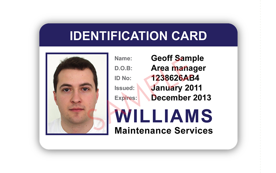 ID Card Samples: Photo 13