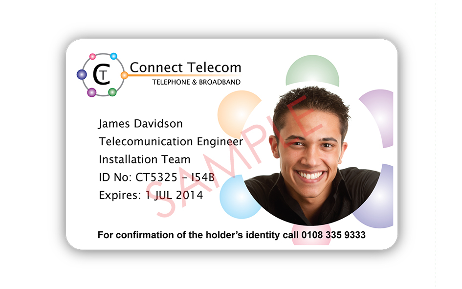 ID Card Samples: Photo 7